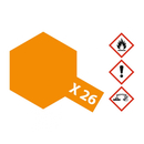Tamiya 81026 - X-26 Klar-Orange glänzend 23ml