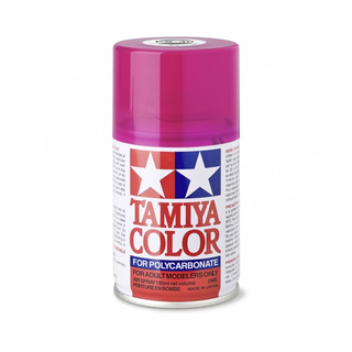 Tamiya 86040 - PS-40 Translucent Rosarot Polyc. 100ml